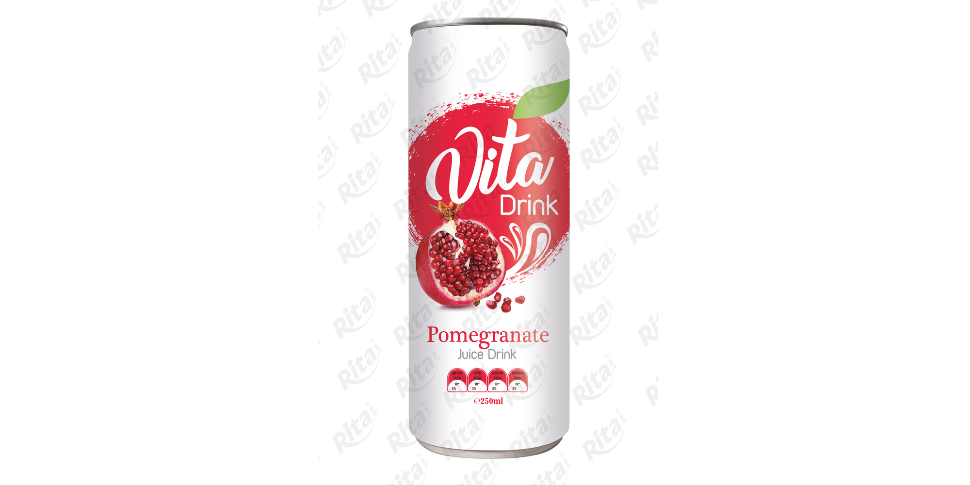 Rita private label OEM beverages Pomegranate juice drink 250ml