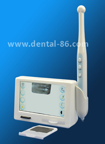 5 inch touch screen x-ray film reader with intraoral camera