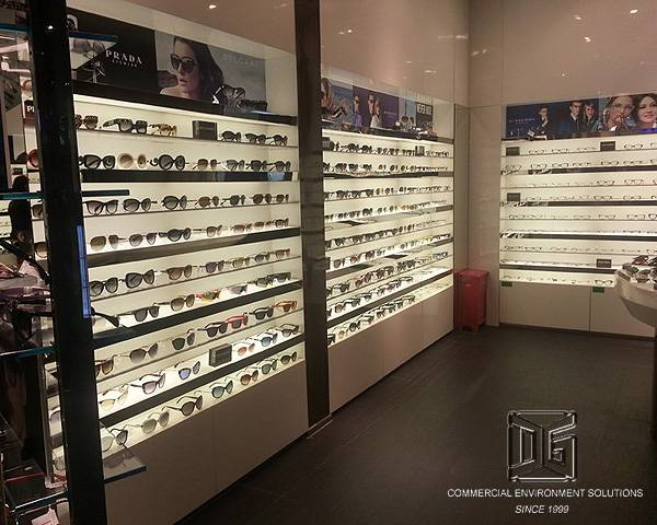 High End Optical Shop Design