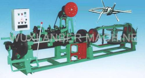 CS-A type barbed wire machine