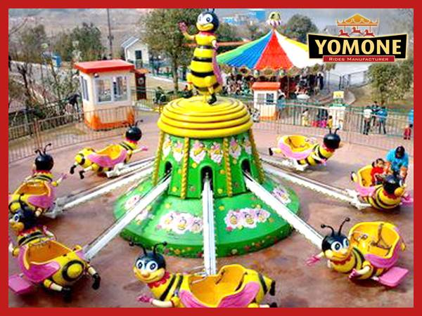 children's games used amusement rides control rotation bee amusement park rides for sale