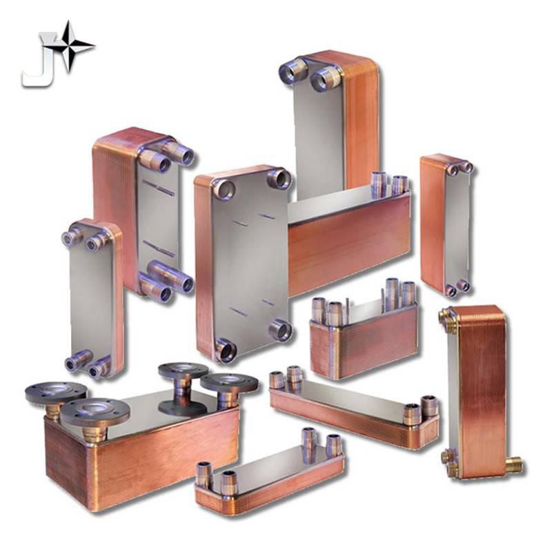 Energy saving  brazed plate heat exchanger