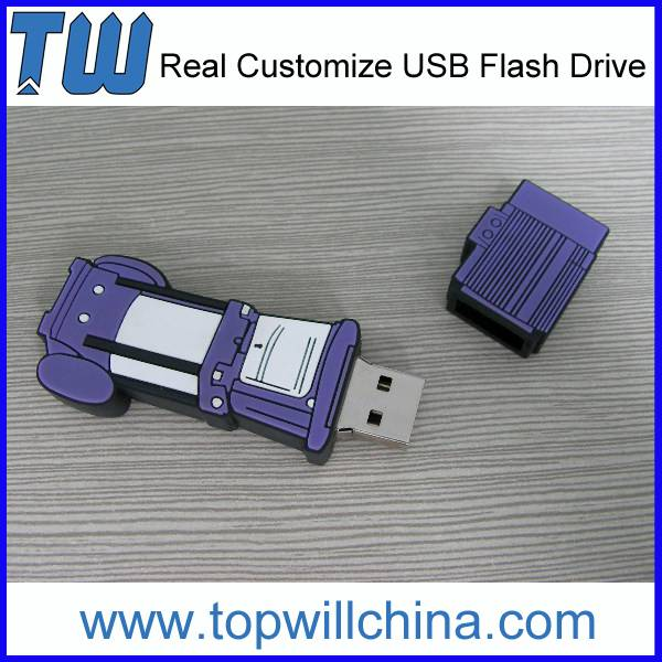 Unique PVC Usb Flash Drives Design for Company Promotion Gift