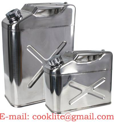 Drinking Water Can / Edible Oil Can / Stainless Jerry Can