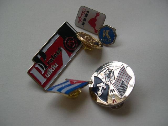 Lapel Pin Key Chain
