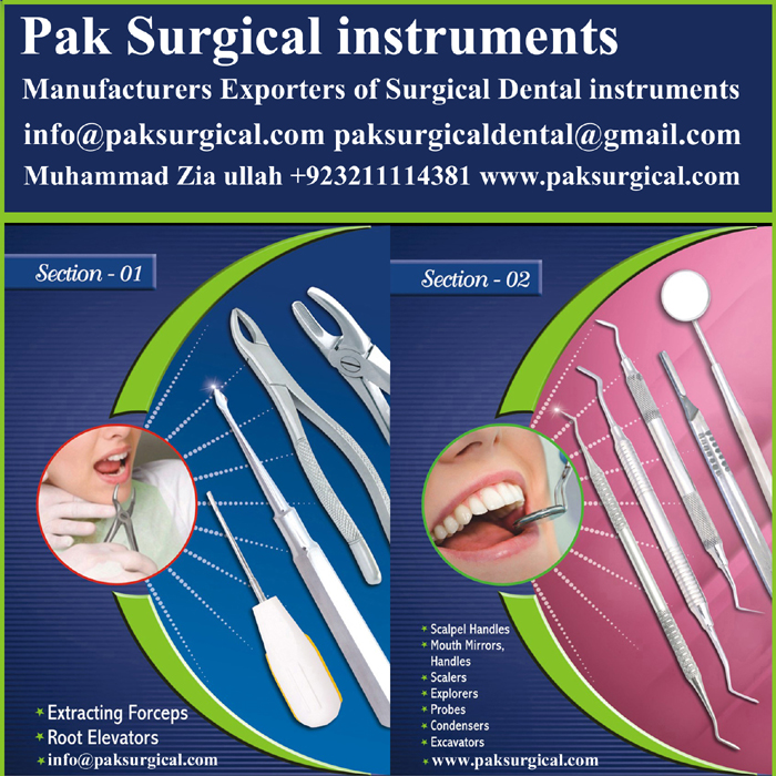 Mouth Mirror Dental instruments Pak Surgical instruments