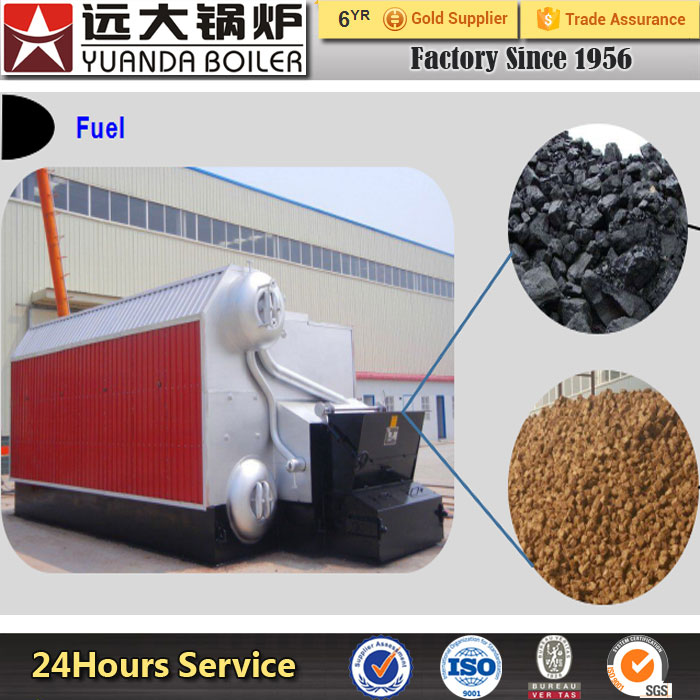 SZLYuanda Manufactory Coal biomass Fired Steam Water Boiler Price