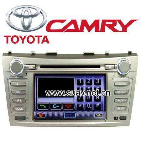 "Car DVD Player GPS 7""TFT Wide Digital LCD Monitor For TOYOTA CAMRY Specialized"