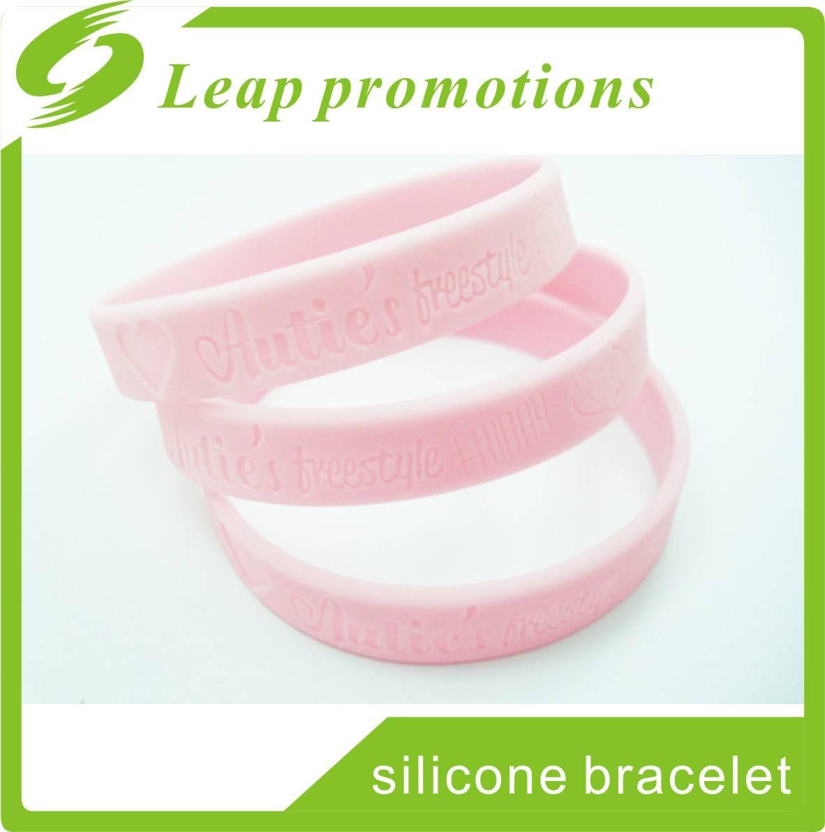 2016 Hot selling cheap custom silicone bracelets fashion silicone bracelets personalized band