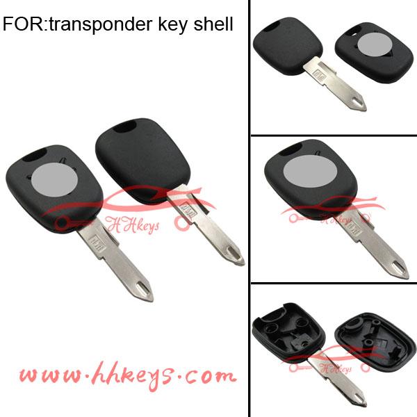 Citroen C3 206 Transponder Key Shell