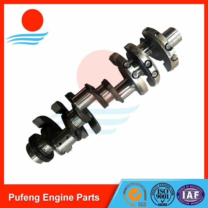 Mitsubishi Excavator Parts 8DC8 8DC81 8DC82 forged crankshaft ME997083 ME999355