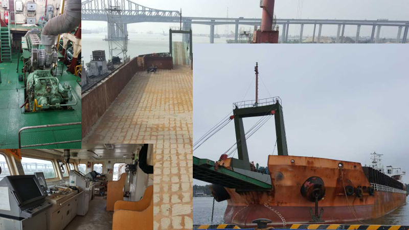 9560 DWT Self Propelled barges for sale (YH0201)