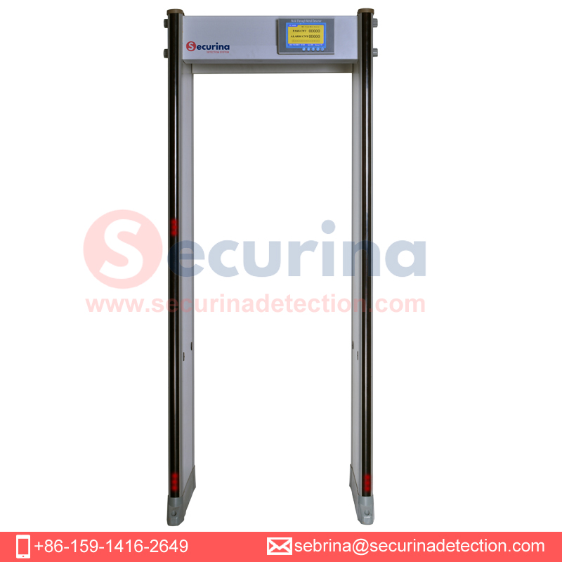Securina-SA300S 45 zones Walk Through Metal Detector Door