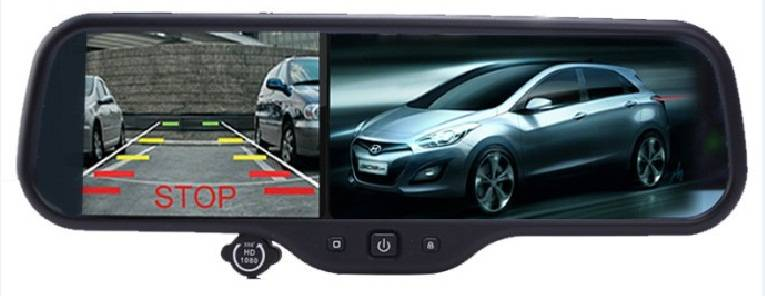 "4.3"" LCD G-sensor Night Vision GPS Car Camera DVR Wifi Android 4.0 system Car Rearview Mirror 1080P"