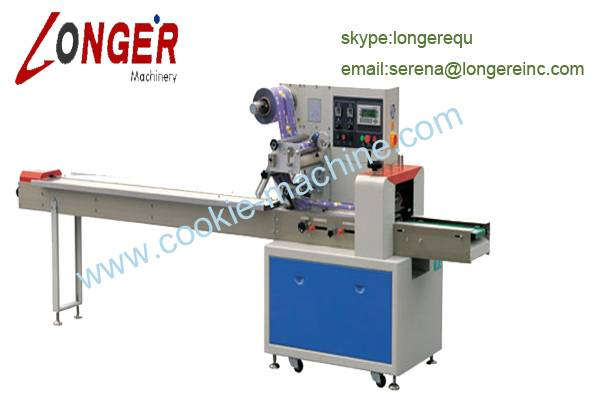 Automatic Pillow Type Biscuit Packing Machine