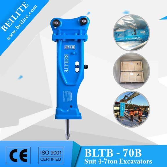 BLTB70 type excavator hammer breaker (silenced breaker hammer)