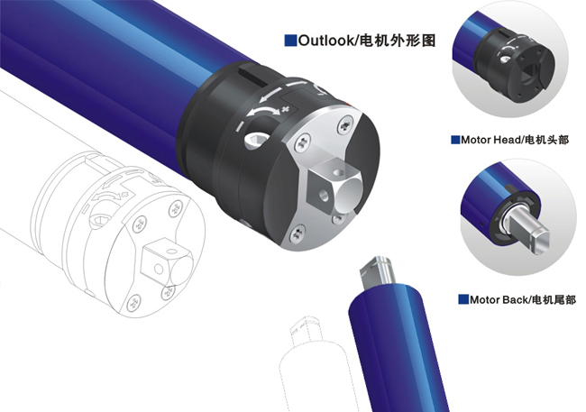 Tubular motor SM35S Standard