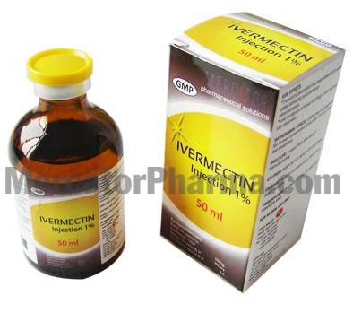 Ivermectin Injection Anthelmintic Veterinary Drug