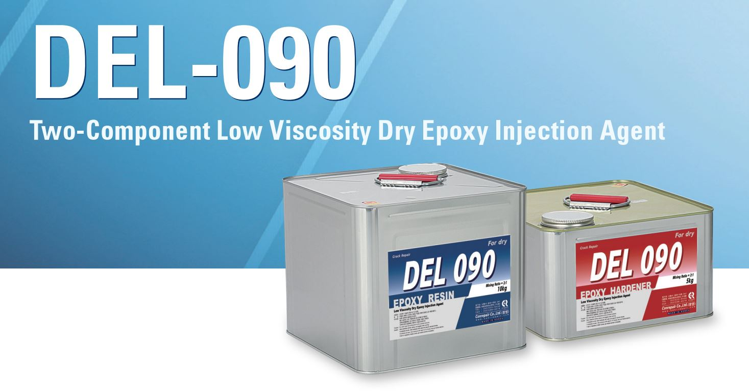del090 epoxy injection for Dry