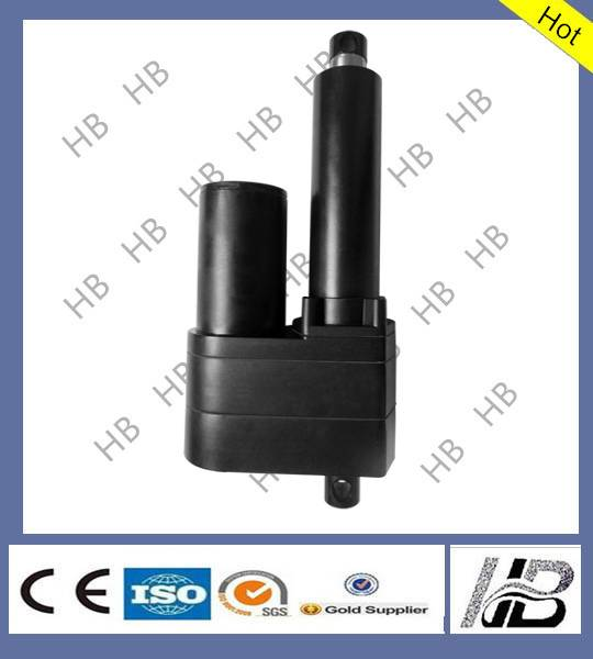 Motorized linear actuator  for farm machinery
