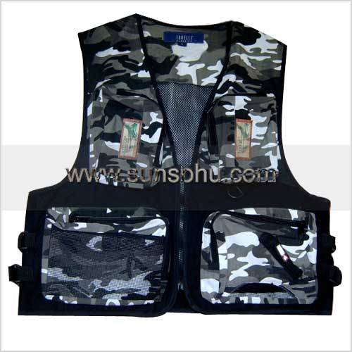 Wholesale Fishing vest GS-W21F