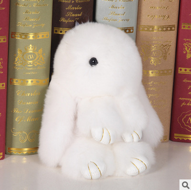 Wholesale Plush Stuffed Rabbit Toy Keychain