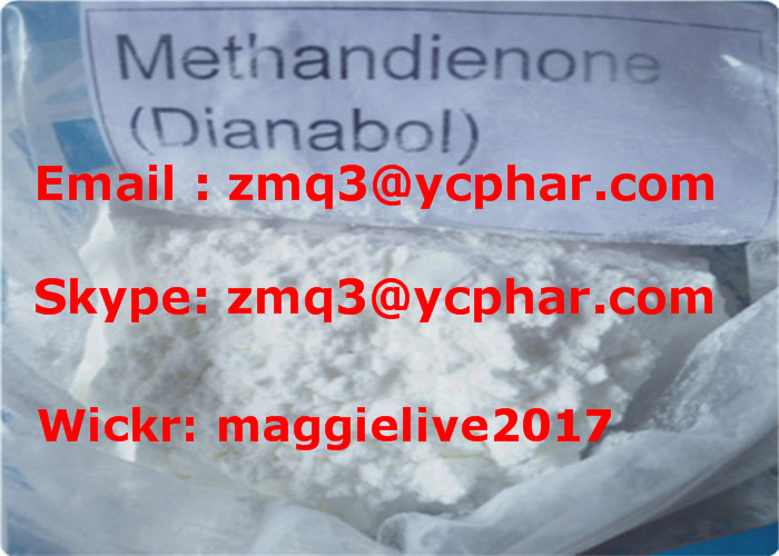 99% Anabolin Steroids Dianabol CAS: 72-63-9 for Muscle Growth