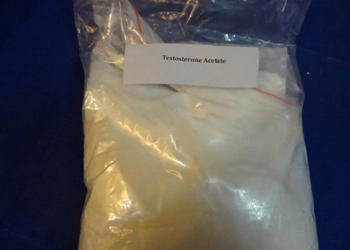 Injectable Anabolic Steroids Testosterone Acetate Powder