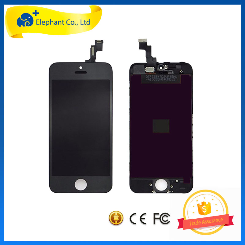 OEM Tianma Jindongfang LCD For iPhone 5S , LCD Digitizer Assembly For iPhone 5S On Sale