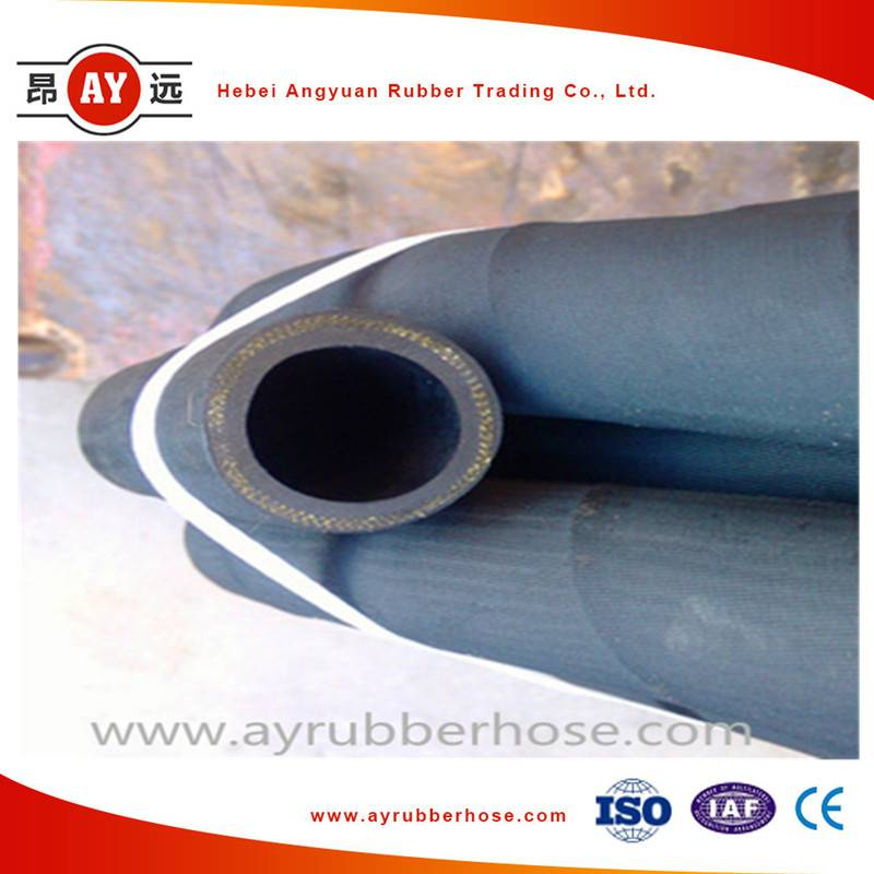 1-1/2 inch air tight flexible rubber hose to transfer air or water