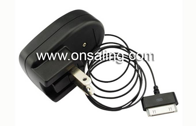 BP-B01MC01-BK 5V/700mA retractable Micro USB charger