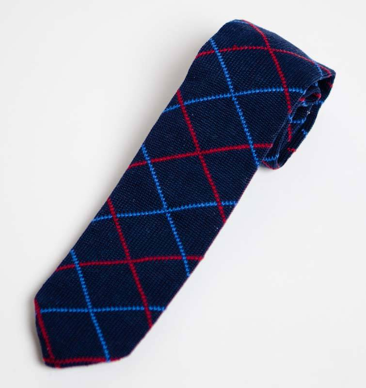 Knitted Polyster Neck Tie (8006)