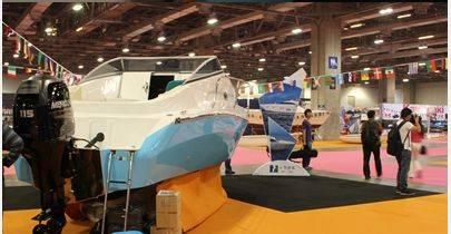 china supply 6.5m new materials motor yacht