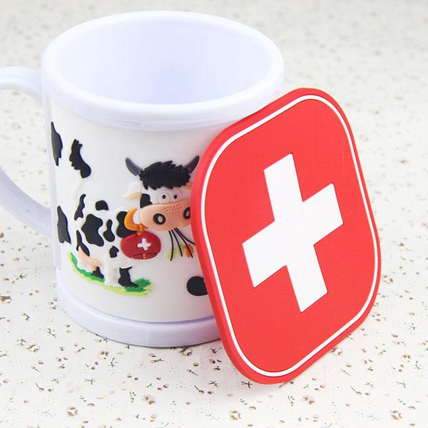 Promotion Cheap Souvenir Custom Drink Cup Coasters