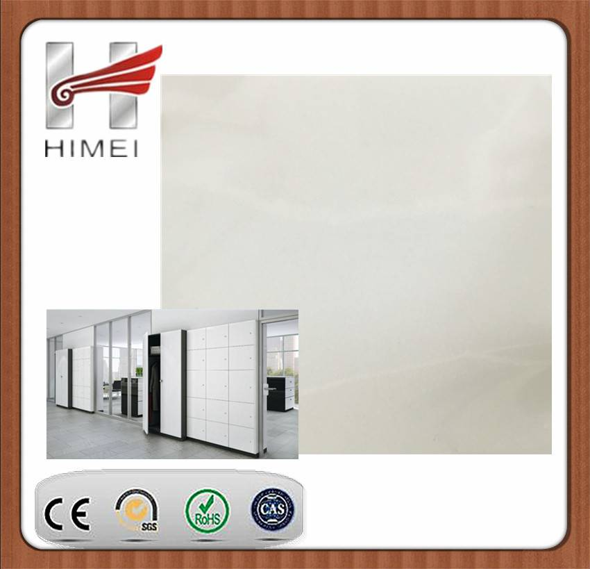 PVC film galvanized steel sheet for partition wall