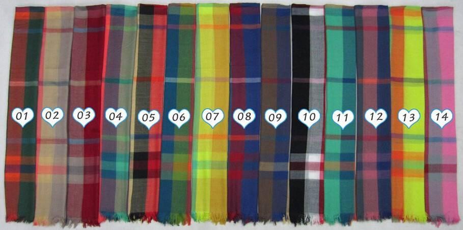 2014Automn/Winter Men's polyester lattice shawls PG936