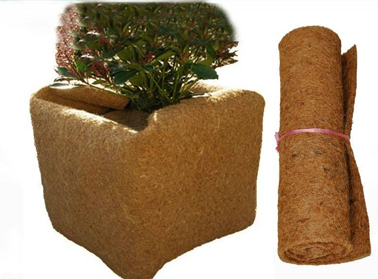 Ice Carpet Coir Mat / coir ice mat/Instant Roll-Out Ice Mat/ Carpet/ Prevents Slipping