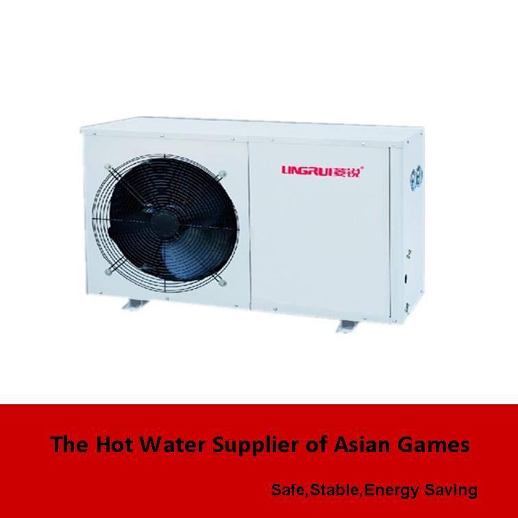 Domestic air source split heat pump water heater
