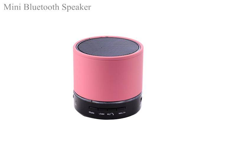Mini Cylinder Bluetooth Speaker Mini Music Box Wireless Portable Speaker HI-FI Music Player Stereo H