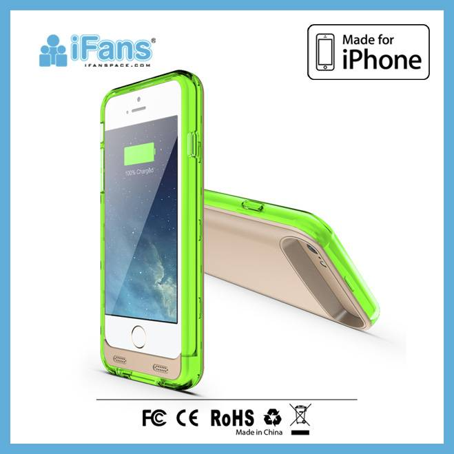 for iPhone 6 and 6+ rechargeable battery case/phone case cover for iPhone 6