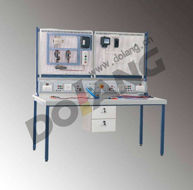 DLWD-ETBE12DSTA electrical skill training workbench