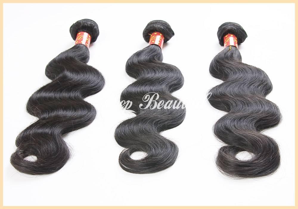 100% Virgin Peruvian Hair Body Wave 3 pcs/lot 100% Unprocessed Virgin Hair