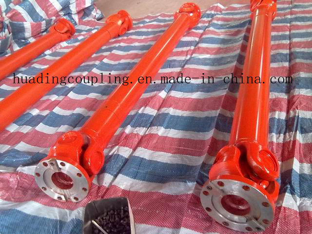 Telescopic cardan shaft for industry machine