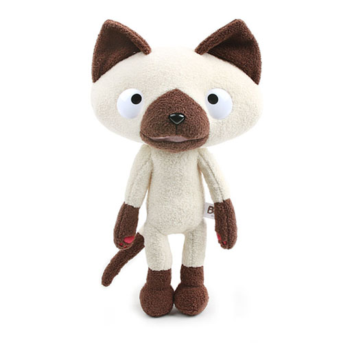 cute cat plush toy from animated film