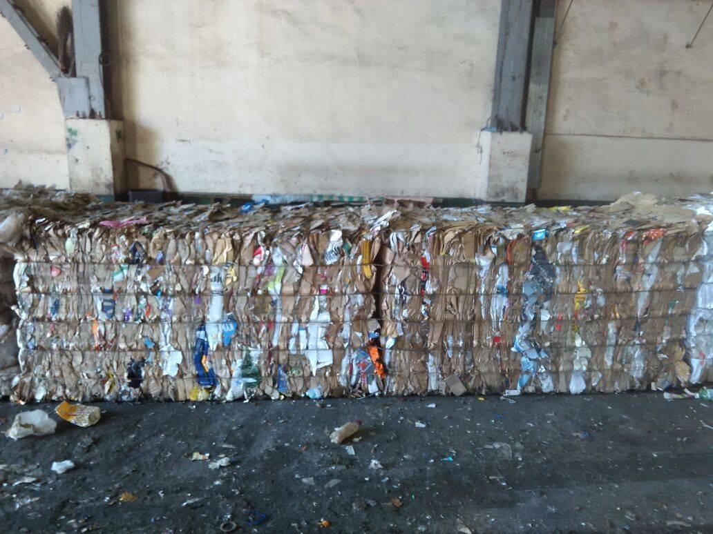 waste cardboard OCC