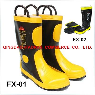 Rubber Rubber Fire Fighting/Fighter Boots Safety Protective Shoes/Fighter Boots Safety Protective Sh