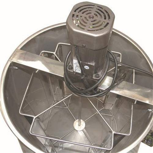 Support Cuotomize / 4 Frames Cheap stainless steel Honey Extractor By Electric From Manufacturer