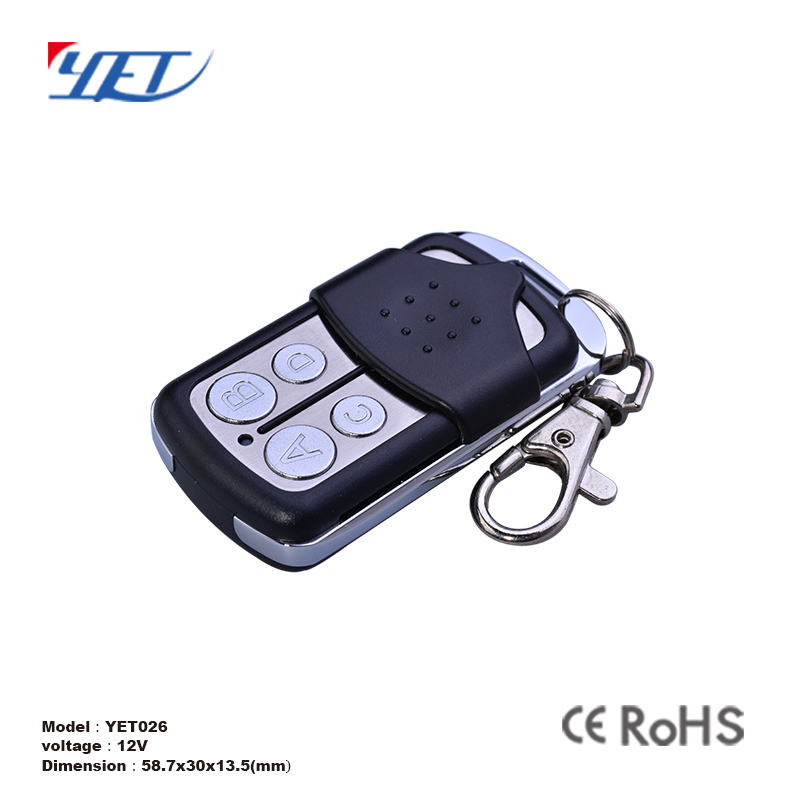 433 mhz universal waterproof programmable power car gate remote control
