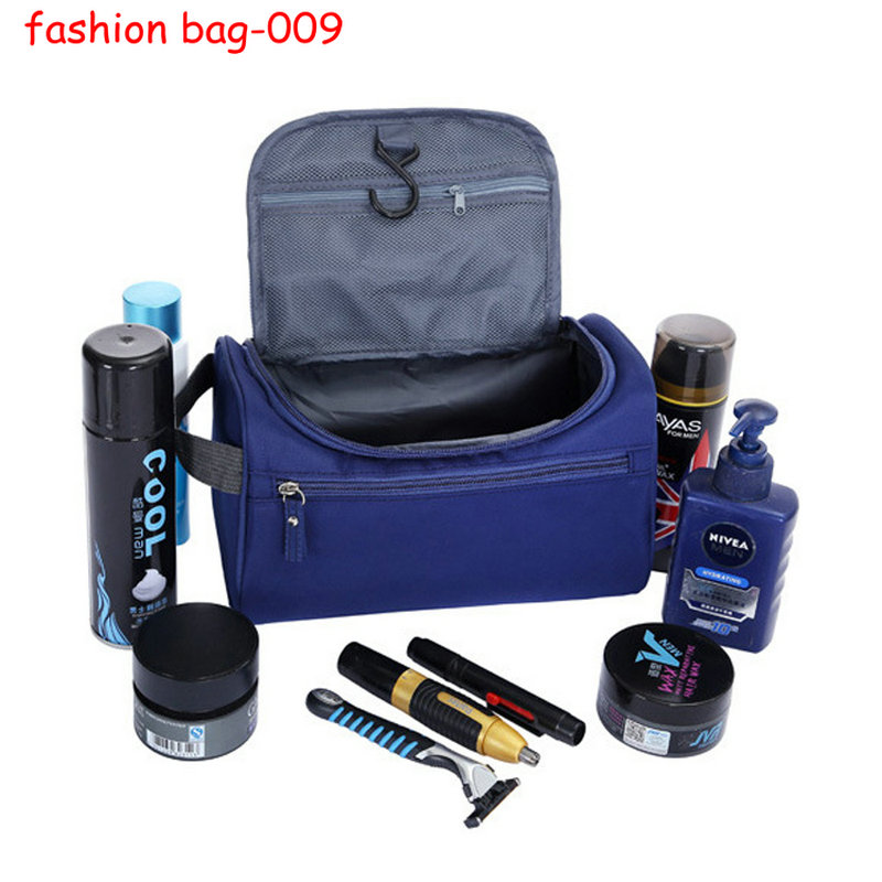 OEM Travel Organizer Bag Polyester Men Travel Toilet Bag