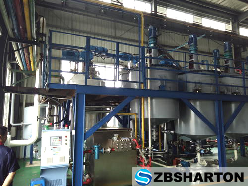 Lithium Gear Bearing Grease Lubricant Grease Making Machine